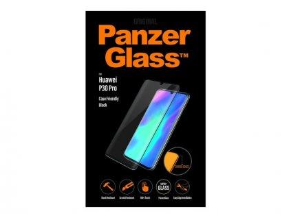 Tvrzené sklo PanzerGlass pro Huawei P30 Pro, černé