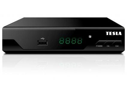 DVB-T2 přijímač Tesla TE-310 H.265 (HEVC), ověřeno CRA
