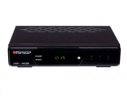 DVB-T2 přijímač Opticum LION 5-M, DVB-T2 HD, h.265 HEVC