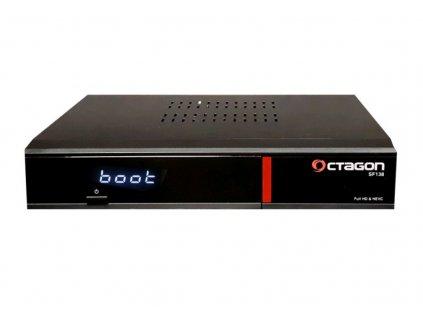 DVB-T2 přijímač OCTAGON SF138 DVB-T2/C HD Enigma2 HEVC HbbTV