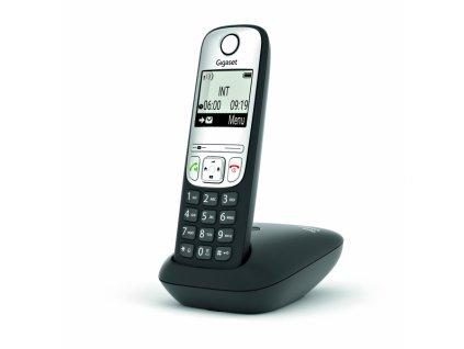 Bezdrátový telefon Gigaset A690HX DECT/GAP černý/stříbrný