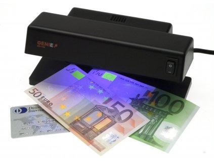 Detektor padělků Genie MD188, UV, na kontrolu pravosti bankovek