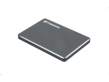 """Disk Transcend externí HDD, 2TB, StoreJet 25C3N, 2.5"""", USB 3.0 ocelově šedý"""