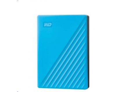 "Disk Western Digital My Passport portable, 4TB, Ext., 2.5"", USB3.0 modrý"