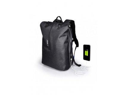 "Batoh PORT Designs NEW YORK BACKPACK na 15,6'' notebook a 10,1"" tablet, šedý"