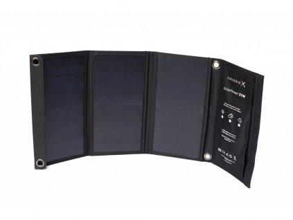 Solární panel Crossio SolarPower 21W nabíječka, 2x USB
