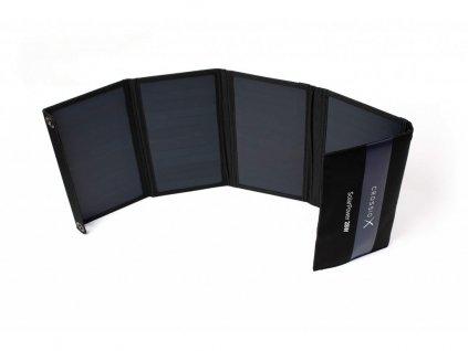 Solární panel Crossio SolarPower 28W nabíječka, 2x USB