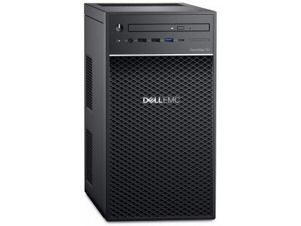 Server Dell PowerEdge T40 Xeon E-2224G, 8GB, 2x 480GB SSD RAID 1 + 1x 1TB (7200), DVDRW, 3Y NBD