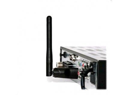 Adaptér Ferguson W03 Wi-Fi Dongle 2,4GHz s anténou pro Ferguson Ariva, Ralink RT5370 802.11n 150 Mbps - poškozený obal