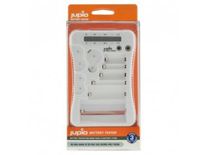 Tester Jupio Battery Tester na baterie N / AA / AAA / C / D / 9V / V3 / 2CR4 / P2 / 2 / 123A