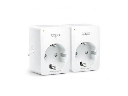 Chytrá zásuvka TP-Link Tapo P100 (2-pack) regulace 230V přes IP, Cloud, WiFi