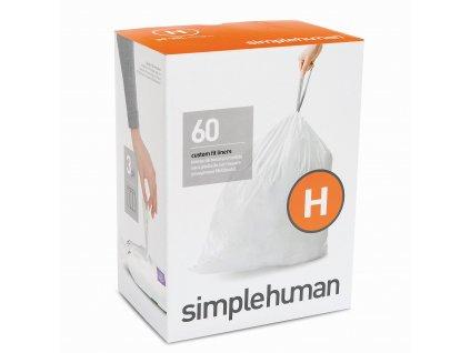 Sáčky Simplehuman do odpadkového koše 30-35 L, typ H zatahovací, 3 x 20 ks (60 sáčků) WP