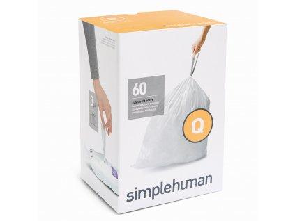 Sáčky Simplehuman do odpadkového koše 50-65 l, typ Q zatahovací, 3 x 20 ks (60 sáčků)