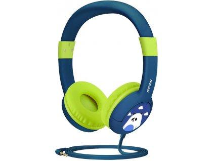 Sluchátka MPOW CH1 - dětská, zelená