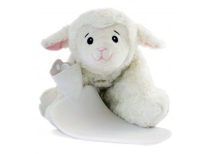 Termofor Hugo Frosch dětský, Classic 3 v 1 s polštářkem – ovečka