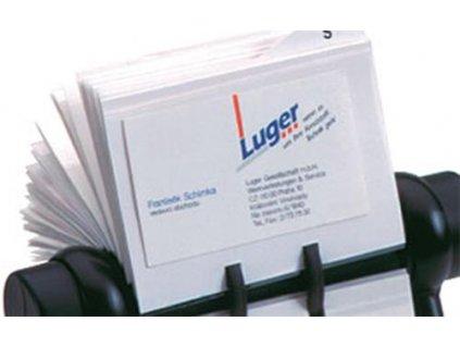 Visačky náhradní papírová náplň pro pořadač vizitek Rotacard, 50ks