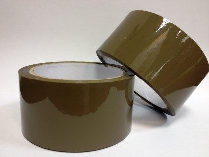 Páska balící lepící 48mm x 66m hnědá