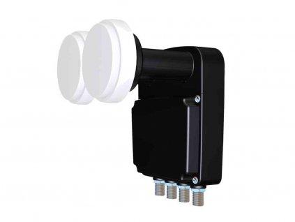 Konvertor Inverto BLACK Pro Quad Monoblock 23 mm LNB 4.3°