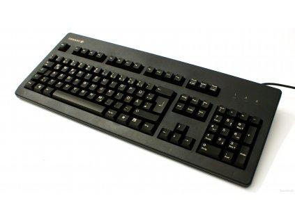 Klávesnice Cherry G80-3000LPCDE-2, KEY, USB&PS/2, tmavá, DE