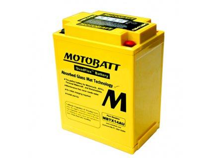 Baterie Motobatt pro motocykly MBTX14AU (16,5Ah, 12V, 4 vývody)