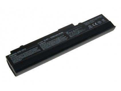 Baterie Avacom pro NT Asus EEE PC 1015/1016/1215 series Li-ion 10,8V 5200mAh/56Wh black - neoriginální