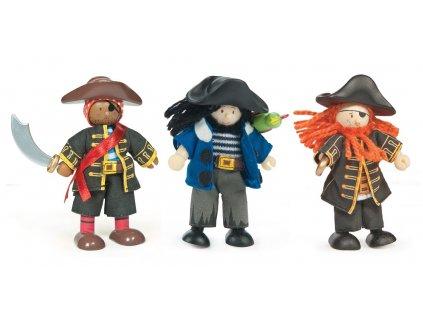 Hračka Le Toy Van Postavičky piráti Barbarossy