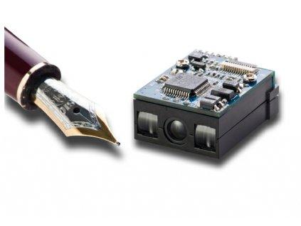 Čtečka Partner MCR14 CCD skener, střední dosah, USB, černý
