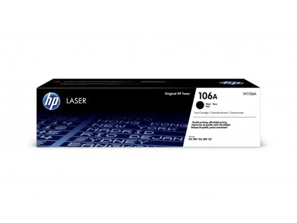 Toner HP W1106A, 106A černý (1000str./5%)