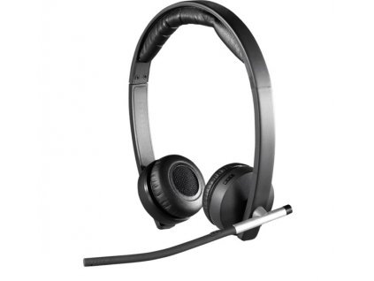Sluchátka Logitech Wireless Headset Dual H820e 981-000517