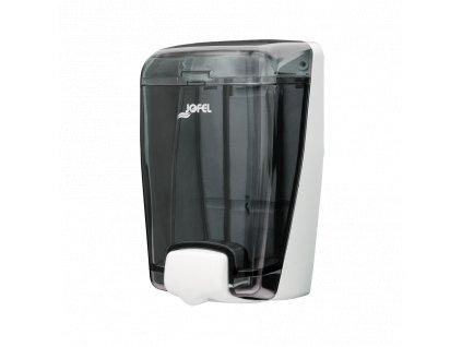 Dávkovač Jofel Azur na tekuté mýdlo, 1l, kouřový, na dolévání