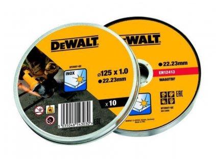 Řezný kotouč Dewalt DT3507 125 mm, 10ks