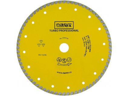 Diamantový kotouč Narex TURBO PROFESSIONAL 230 mm