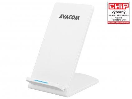 Nabíječka Avacom HomeRAY S10 bezdrátová se stojánkem, bílá