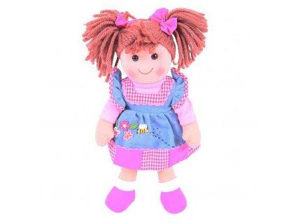 Panenka Bigjigs Toys Bigjigs Toys látková Melody, 34 cm