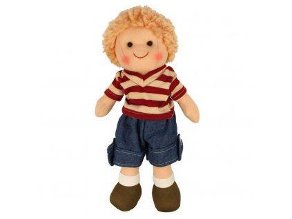 Panenka Bigjigs Toys látkový Harry, 28 cm