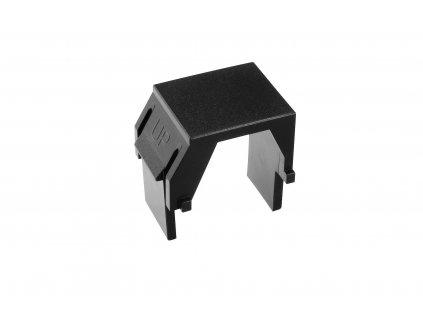 Záslepka Solarix SXKJ-0-BK do modulárních patch panelů nebo zásuvek, černá