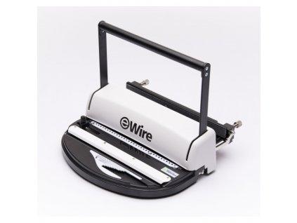 Vazač Eurosupplies iWire 31 pro kovové hřbety, 130 listů vazba, 14 listů děrování