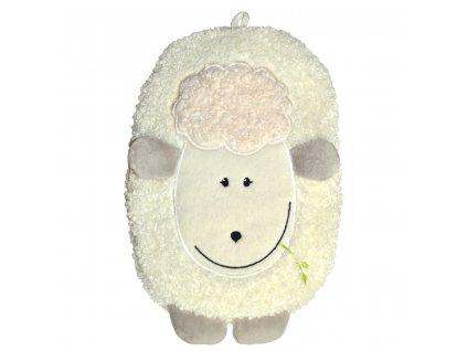 Termofor Hugo Frosch dětský Eco Junior Comfort s motivem ovečky - krémová