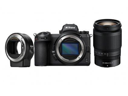 Digitální fotoaparát Nikon Z6 II + NIKKOR Z 24–200 mm f/4–6,3 VR + FTZ adaptér