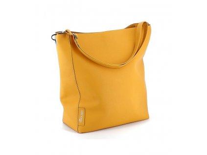 Taška Rolser nákupní Vegan Bag, žlutá