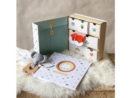 Krabice Petitcollage vzpomínek Baby