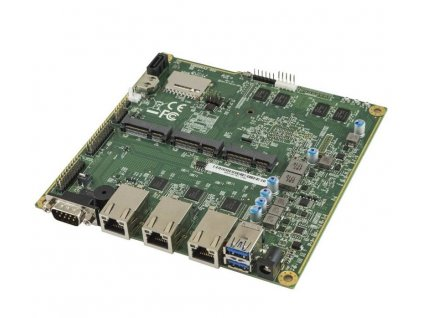 Deska PC Engines APU.2E4 system board, 4GB RAM / 3 GigE / 2 miniPCIE / mSATA / USB / RTC battery