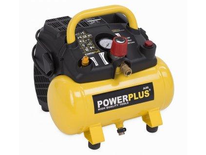 Kompresor Powerplus POWX1721 bezolejový