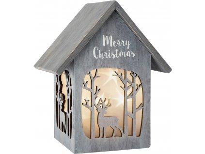 Vánoční lucerna Small Foot dřevěná, Sob