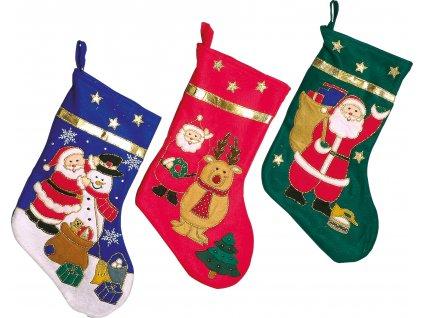 Vánoční ponožka Small Foot 3 ks