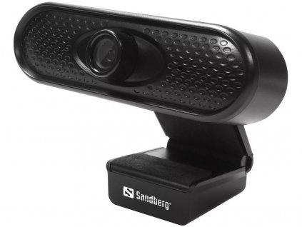 Webkamera Sandberg USB Webcam 1080P HD, černá