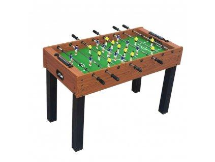 Stolní fotbal E-LAND Hattrick 4ft pro děti, hnědý