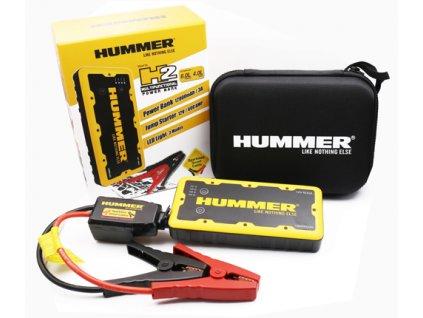 Startovací powerbanka Hummer H2 (12000 mAh, pro auto s obsahem 6l)