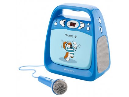 Přehrávač GoGEN CD Maxi Karaoke, Maxipes Fík modrý