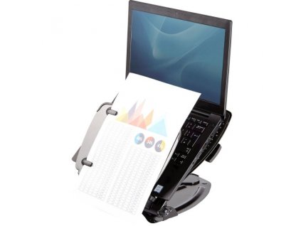 Stojan Fellowes Professional pod notebook, s USB, černý